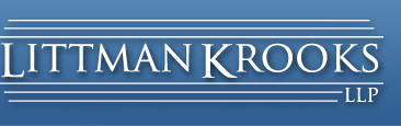 Letter of Intent | Littman Krooks, LLP